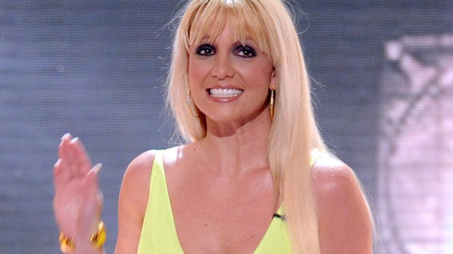 "PHOTO: Judge Britney Spears at FOX's ""The X Factor"" Season 2 Top 4 Live Performance Show, Dec. 12, 2012 in Hollywood."