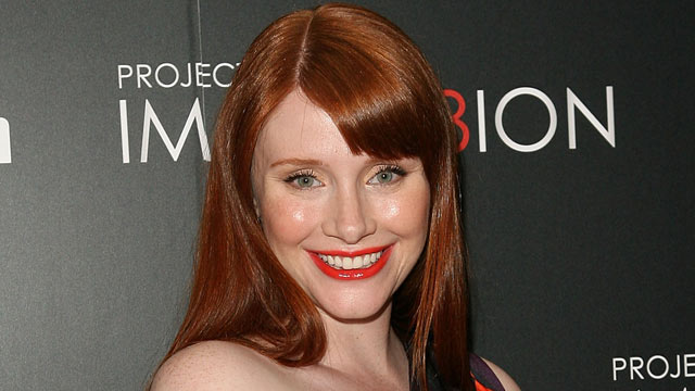 "PHOTO: Bryce Dallas Howard attends the ""When You Find Me"" screening at the Ray Kurtzman Theater on Nov. 21, 2011 in Los Angeles."