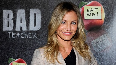 PHOTO: Cameron Diaz promotes 'Bad Teacher' at The Colosseum at Caesars Palace during CinemaCon, March 30, 2011 in Las Vegas.