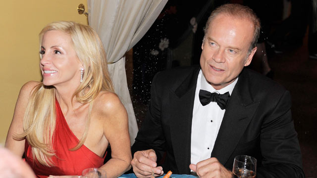 PHOTO: Camille Grammer and Kelsey Grammer attend the after party following the 64th Annual Tony Awards at Rockefeller Center, June 13, 2010, in New York City.