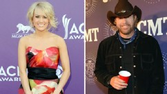 PHOTO: Carrie Underwood and Toby Keith