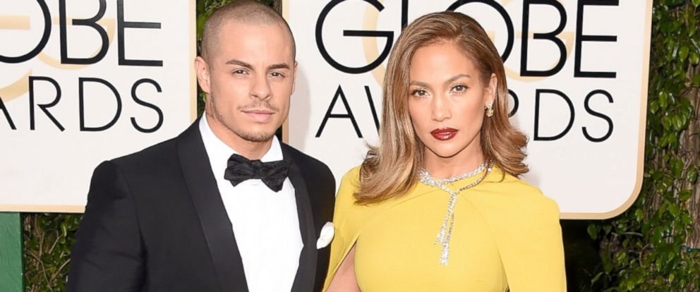 PHOTO: Jennifer Lopez and Casper Smart attend the 73rd Annual Golden Globe Awards held at the Beverly Hilton Hotel on Jan. 10, 2016, in Beverly Hills, Calif.