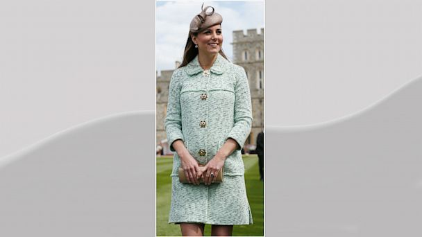 PHOTO: Catherine, Duchess of Cambridge attends the National Review of Queens Scouts at Windsor Castle on April 21, 2013.