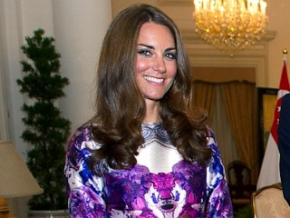 Photos: Kate Middleton Chic in Singapore