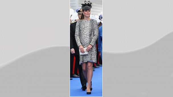PHOTO: Catherine, Duchess of Cambridge is seen during the Princess Cruises ship naming ceremony at Ocean Terminal on June 13, 2013 in Southampton, England.