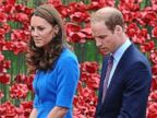 Kate Middleton, Prince William and Prince Harry Take in an Art Installation