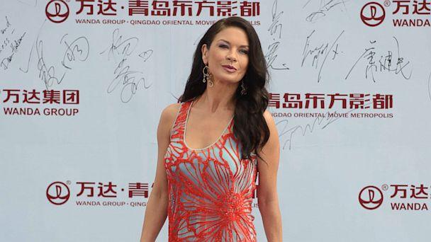 gty catherine zeta jones ll 130923 16x9 608 See Catherine Zeta Jones First Red Carpet Since Michael Douglas Separation