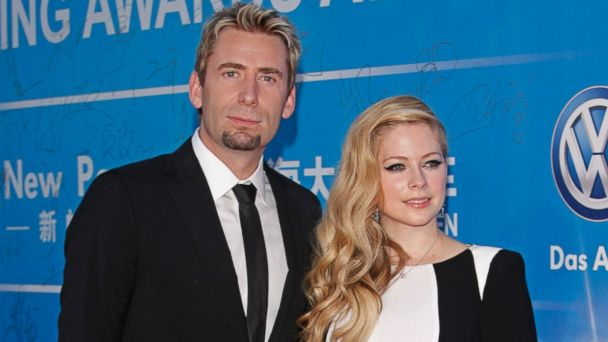 gty chad kroeger avril lavigne ll 131016 16x9 608 Youll Never Believe What Movie Avril Lavigne Made Chad Kroeger Watch