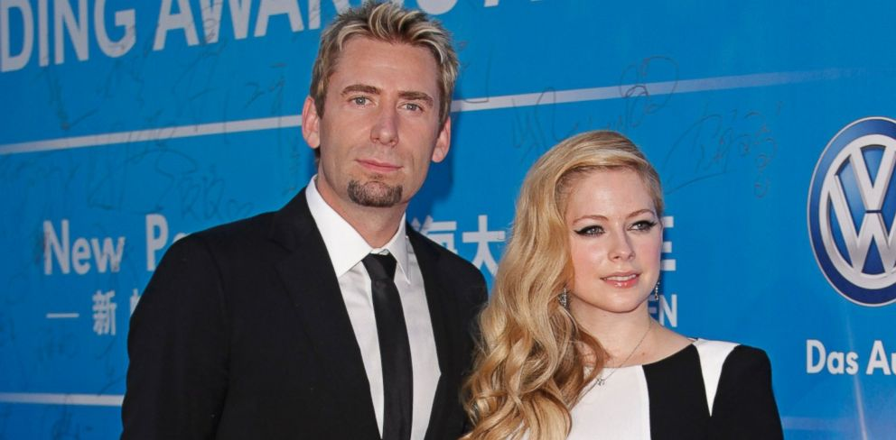 PHOTO: Singer Avril Lavigne and her husband Chad Kroeger attend the 2013 Huading Awards ceremony at The Venetian Macao, Oct. 7, 2013, in Macau.