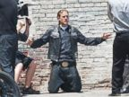 Charlie Hunnam Shoots Sons of Anarachy