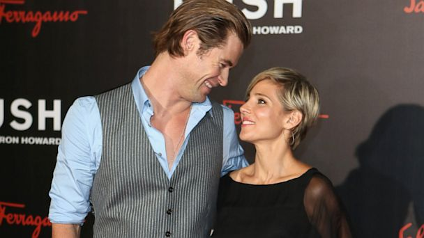 gty chris hemsowrth elsa pataky thg 130903 16x9 608 Chris Hemsworth Says Wife Enjoyed his Naked Rush Scenes