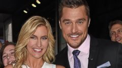 PHOTO: Chris Soules and Whitney Bischoff are seen at ABC Studios for Good Morning America on March 10, 2015 in New York.