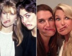 PHOTO: Christie Brinkley posted an image on her Facebook page of her and Brooke Shields making the same funny faces they made back on Feb. 10, 1987 at a movie premiere in New York City.