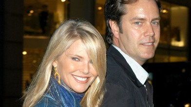 PHOTO: Christie Brinkley and Peter Cook during Christie Brinkley and Peter Cook in New York City, April 7, 2005 at Uptown in New York City.