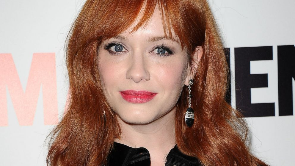 "PHOTO: Actress Christina Hendricks attends the season 7 premiere of ""Mad Men"" at ArcLight Cinemas on April 2, 2014 in Hollywood, California."
