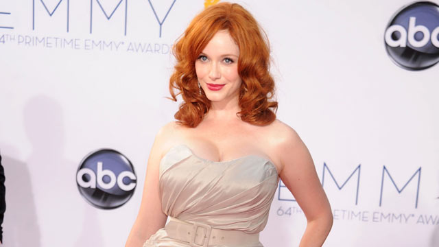 PHOTO: Christina Hendricks arrives at the 64th Primetime Emmy Awards, Sept. 23, 2012, in Los Angeles, Calif.