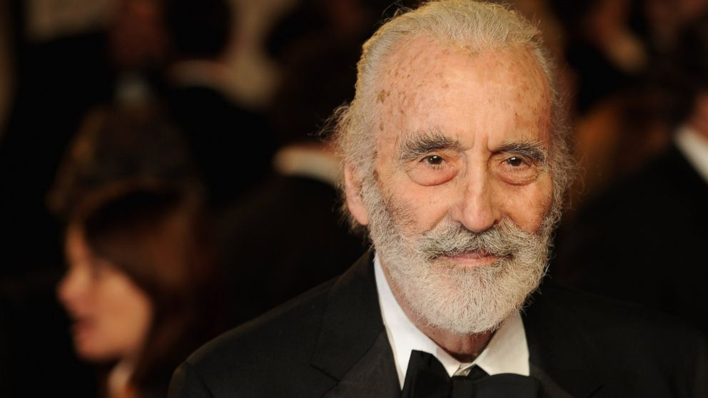 English actor passes: Christopher Lee Dies