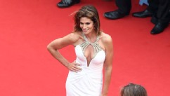 PHOTO: Cindy Crawford attends the Opening Ceremony and 'The Great Gatsby' Premiere during the 66th Annual Cannes Film Festival at the Theatre Lumiere on May 15, 2013 in Cannes, France.