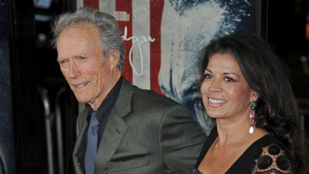 gty clint dina eastwood ll 131024 16x9 608 Dina Eastwood Files for Divorce From Clint Eastwood