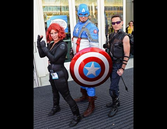 Fans Dress Up For Comic Con 2013