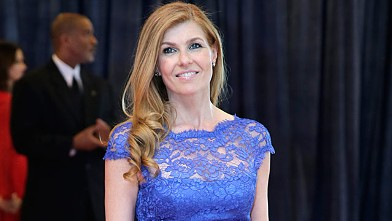 PHOTO: Connie Britton arrives for the White House Correspondents' Association dinner in Washington, D.C., April 27, 2013.