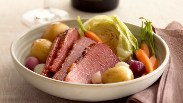 PHOTO: Corned beef and cabbage is a popular meal eaten in the United States on St.Patrick's Day.