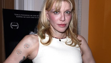 "PHOTO: Courtney Love attends ""Beware Of Mr. Baker"" New York Screening at Crosby Street Hotel on November 27, 2012 in New York City."