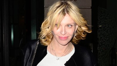 PHOTO: Courtney Love is seen in New York City, November 28, 2011.