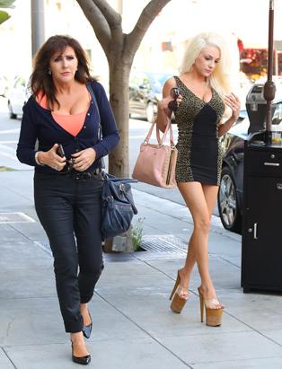 Courtney Stodden's High Heels