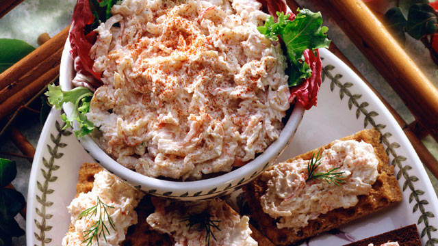 PHOTO: Emeril's crab dip is shown here.