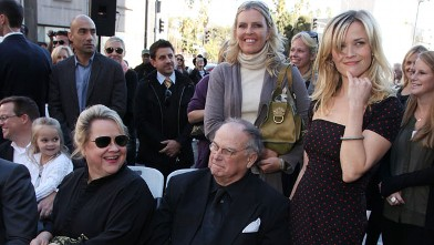 PHOTO: Dr. Betty Reese and Dr. John Witherspoon are seen in this file photo with daughter Reese Witherspoon at Reese Witherspoon Star on Walk of Fame Ceremony on December 1, 2010 in Hollywood, California.