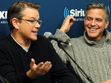 Matt Damon on Pal George Clooney's Engagement
