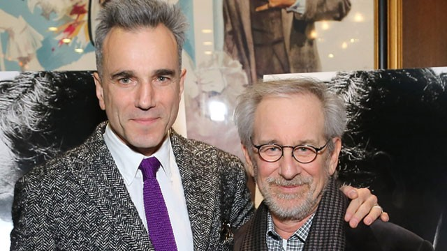PHOTO: Actor Daniel Day-Lewis and director Steven Spielberg attend the special screening of Steven Spielberg's Lincoln, Nov.14, 2012 in New York City.