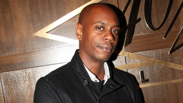 PHOTO: Dave Chappelle attends the Official Barclays Concert after party, Sept. 28, 2012 in New York City.