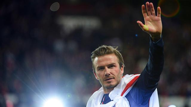 Beckham Plays Final Home Game for Paris Saint-Germain
