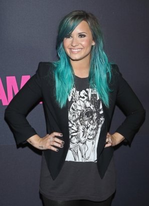 Check Out Demi Lovato?s Blue ?Do