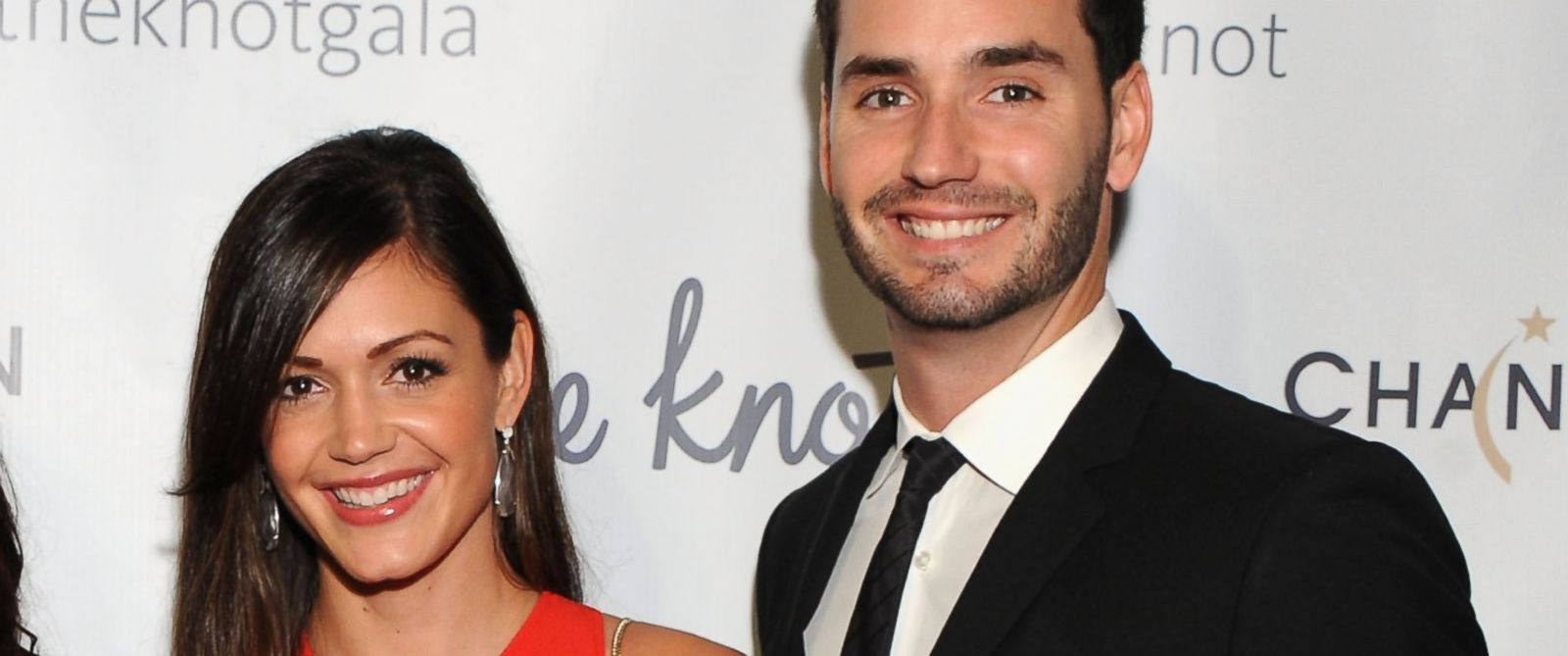 PHOTO: Desiree Hartsock and Chris Siegfried attend the 5th Anniversary Of The Knot Gala at New York Public Library on Oct. 13, 2014 in New York City.