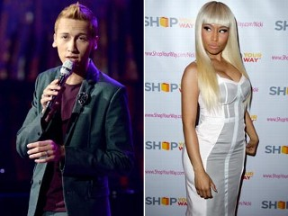 Minaj Feuds with Ousted 'Idol' Singer