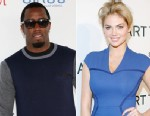 PHOTO: Kate Upton is denying that she is dating P. Diddy.