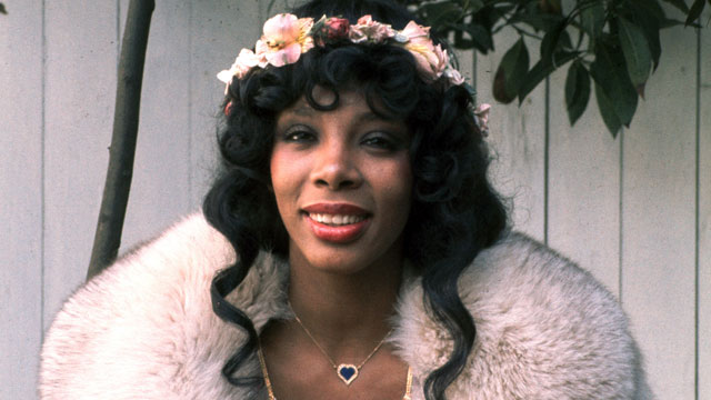 PHOTO: Donna Summer 1976.