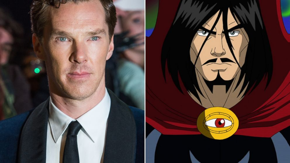 "PHOTO: Benedict Cumberbatch will star in ""Doctor Strange"" in the 2016 Marvel movie."