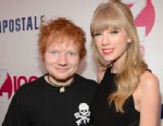 PHOTO: Ed Sheeran and Taylor Swift attend Z100s Jingle Ball 2012, presented by Aeropostale, at Madison Square Garden, Dec. 7, 2012 in New York City.