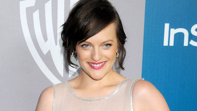 PHOTO: Elisabeth Moss arrives at 13th Annual Warner Bros. And InStyle Golden Globe After Party at The Beverly Hilton hotel in this Jan. 15, 2012 file photo in Beverly Hills, Cali.