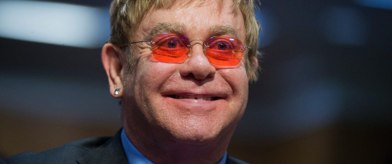 PHOTO: Elton John testifies before a Senate Subcommittee hearing in Washington, D.C., May 6, 2015.