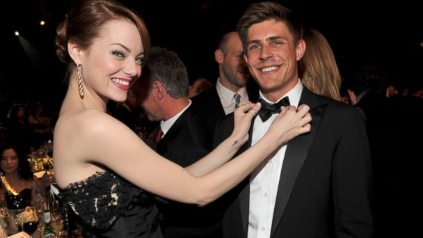 gty emma stone chris lowell kb 140425 16x9 608 First Time Filmmaker Chris Lowell Gets Help From Friend Emma Stone