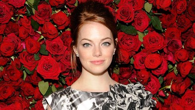 PHOTO: Emma Stone attends the Museum of Modern Art's 4th Annual Film benefit &quot;A Tribute to Pedro Almodovar&quot; at the Museum of Modern Art in this Nov. 15, 2011 file photo in New York City.