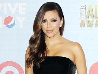 Photos: Longoria's Daring Sheer Dress