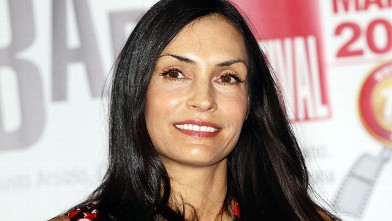 PHOTO: Actress and Director Famke Janssen attends the 2012 Busto Arsizio Film Festival press conference on March 24, 2012 in Busto Arsizio, Italy.