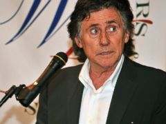 PHOTO: Actor Gabriel Byrne is seen in this October 17, 2011 file photo at the presentation of the 2011 Eugene ONeill Lifetime Achievement Award in New York City.