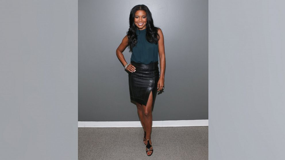 PHOTO: Actress Gabrielle Union visits 106 & Park at BET studio on January 7, 2014 in New York City.